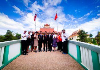 ครูรางวัลสมเด็จเจ้าฟ้ามหาจักรีจากประเทศเวียดนามปี ๒๕๖๒ ร่วมกิจกรรมตามรอยโฮจิมินห์ (Ho Chi Minh) ถิ่นชาวญวน-ไทยอีสาน สานสัมพันธ์ครูไทย-เวียดนาม