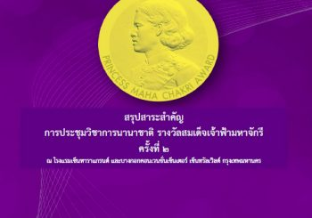 หนังสืออิเล็กทรอนิกส์ สรุปสาระสำคัญพิธีพระราชทานรางวัลสมเด็จเจ้าฟ้ามหาจักรี ครั้งที่ 3 และพิธีมอบรางวัลคุณากร ครูยิ่งคุณ และครูขวัญศิษย์